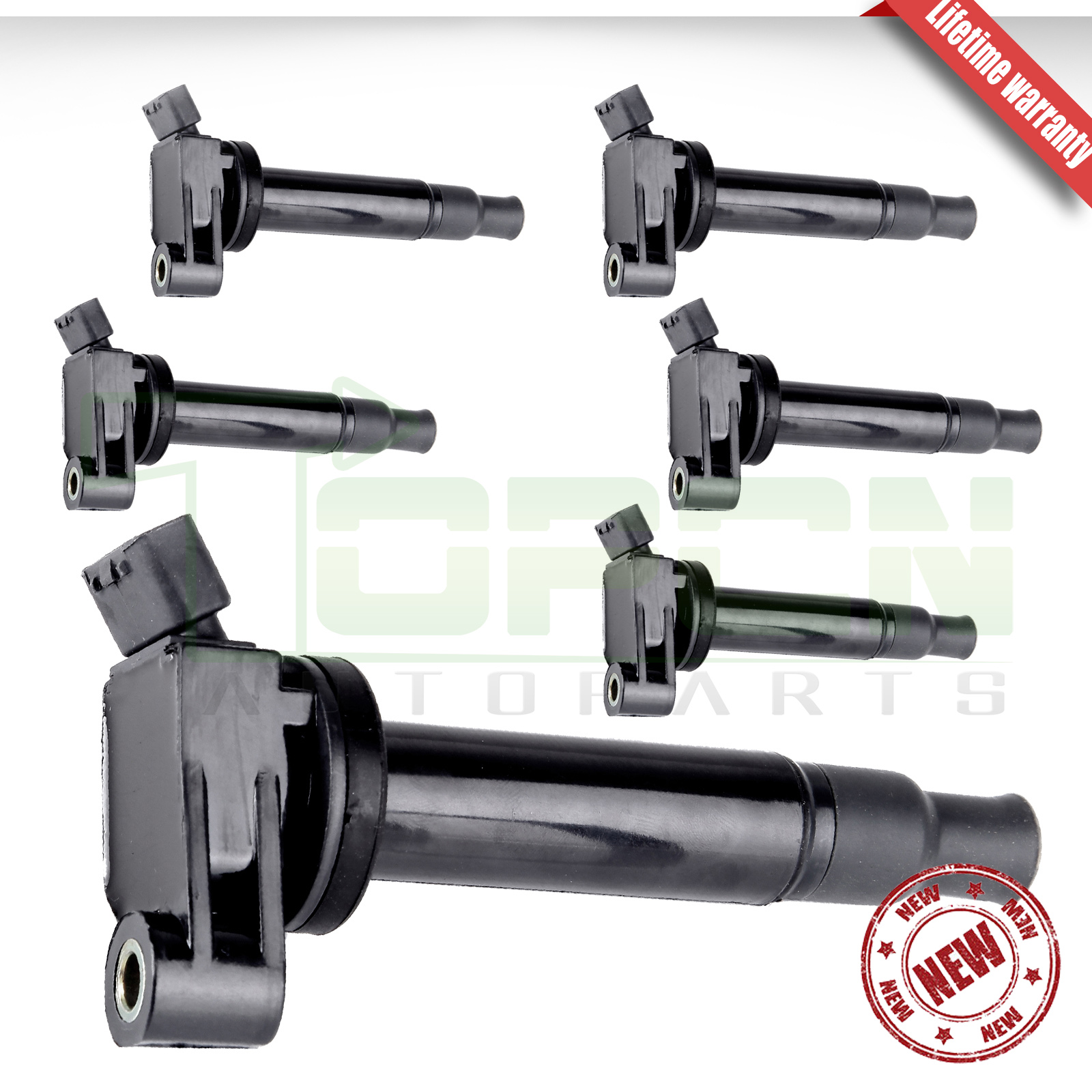 6 Pcs Ignition Coilk For Camry Avalon Siena Es300 With Vvt